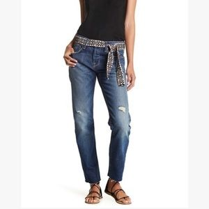 Current/Elliot NWT Crossover Straight Leg Jeans